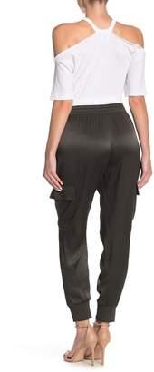 Good American Satin Jogger Pants (Regular & Plus Size)
