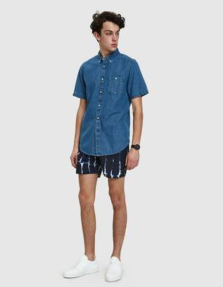 Saturdays NYC Colin Waterstack Shorts in Midnight