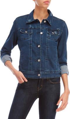 Rafaella Distressed Denim Jacket