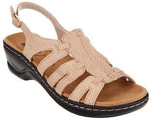 Clarks Leather Lightweight Sandals -Lexi Marigold