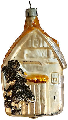 One Kings Lane Vintage Antique Mercury Glass House Ornament