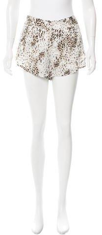 Alice + OliviaAlice + Olivia Silk Leopard Shorts w/ Tags