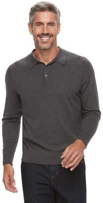 Croft & Barrow Men's Fine-Gauge Polo Sweater