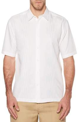 Cafe Luna Big Men's Two Pocket Linen Cotton Panel Shirt