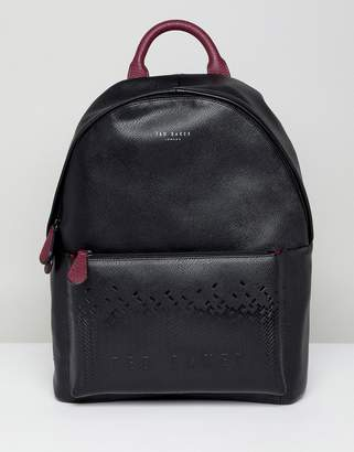 Ted Baker Poloza Embossed Backpack