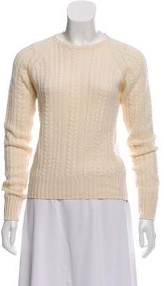 Cashmere Cable Knit Sweater - ShopStyle 2f14ac898