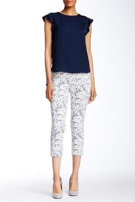 Insight Printed Lightweight Scuba Cropped Pants