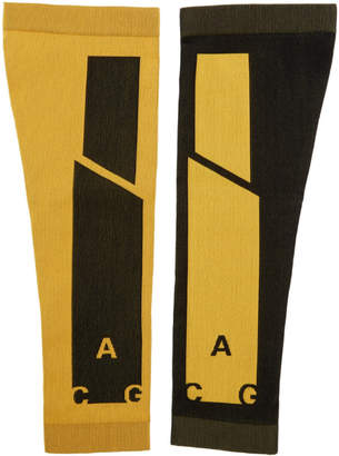 Nike Orange and Black NRG ACG Arm Sleeves