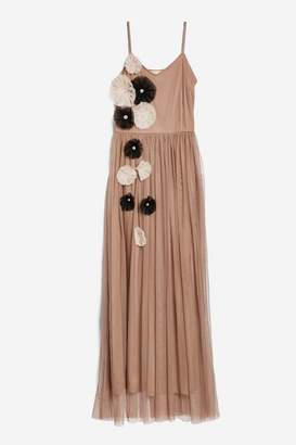 **Pleco Maxi Dress by Lace & Beads