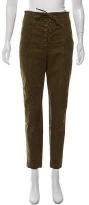 A.L.C. Skinny Lace-Up Pants