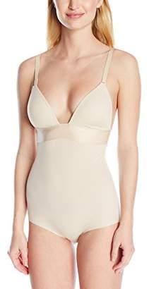Maidenform Women's Endlessly Smooth-Plunge BodyBriefer Bodysuit