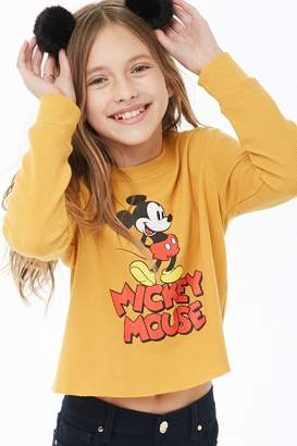 Forever 21 Girls Mickey Mouse Top (Kids)