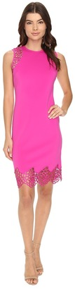 Christin Michaels Kesha Cut Out Sleeve Sheath Dress $109 thestylecure.com