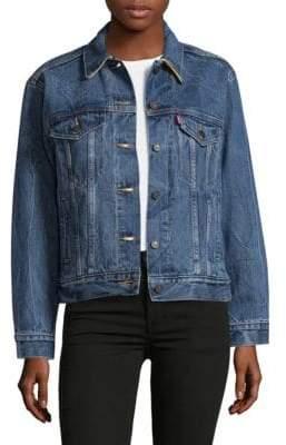 Levi's Hudson's Bay Company X Levis Ex-Boyfriend Trucker Jacket