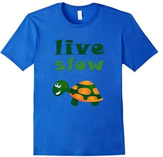 Live Slow Turtle Funny Animal T-Shirt