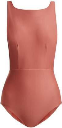 HAIGHT Boat-neck swimsuit