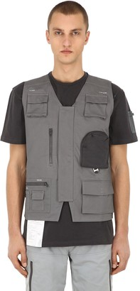 C2H4 WORKWEAR COTTON CANVAS UTILITY VEST