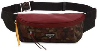 Prada Camouflage Nylon Canvas Belt Pack