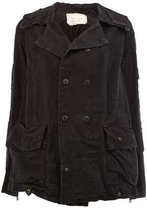 Greg Lauren double breasted jacket