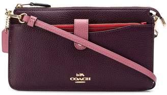 Coach colour block shoulder bag