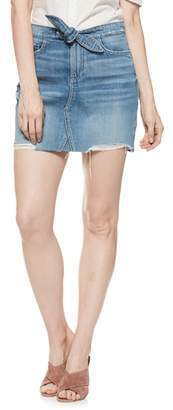 Paige Alethea High Waist Denim Skirt