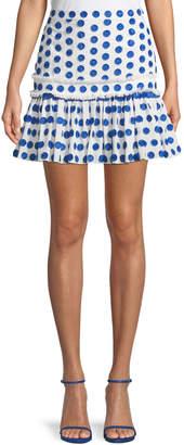 Alexis Harley Dot Applique Mini Skirt