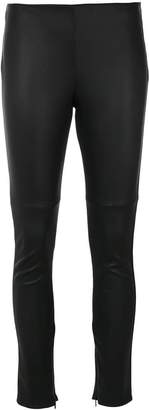 Fendi biker skinny leggings