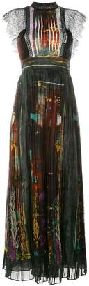 Valentino 'Cuban Forest' printed long dress