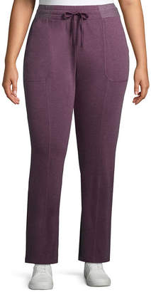 ST. JOHN'S BAY SJB ACTIVE Active Texture Mix Pant - Plus