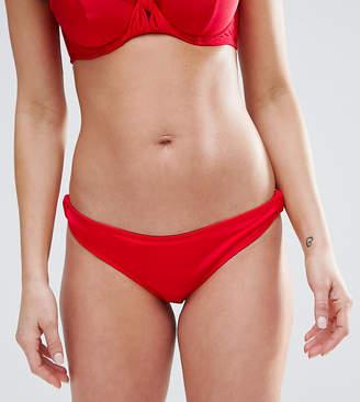 Asos FULLER BUST Exclusive Knot Side Bikini Bottom