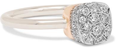 Pomellato - Nudo 18-karat Rose Gold Diamond Ring - 15