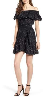MISA LOS ANGELES Lavie Off the Shoulder Dress
