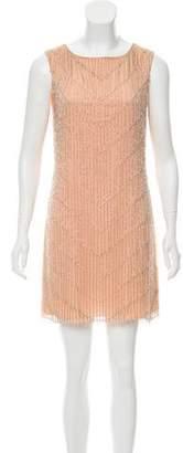 Alice + Olivia Embellished Mini Dress