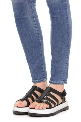 Melissa Black Casual Sandals