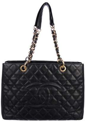 538b3be6f8ca6b Chanel Caviar Grand Shopping Tote