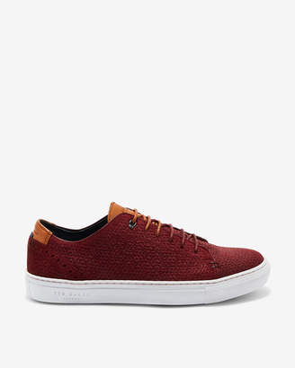 Ted Baker DUUKES Suede cupsole trainers