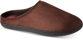 d7b3bd5ec0d5 totes Isotoner Men s Faux-Suede Owen Hoodback Slippers With Memory Foam
