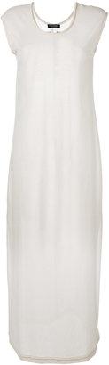 Twin-Set maxi T-shirt dress $138.40 thestylecure.com