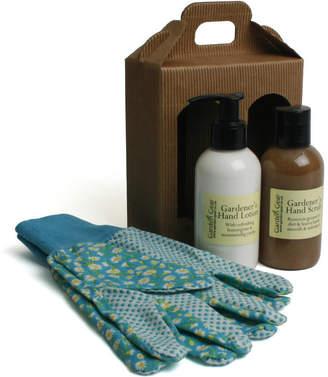 Garden Gear Gardener's Hand Scrub And Lotion Gift Set