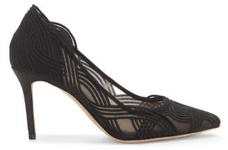 Vince Camuto Imagine Maeson – Embroidered Mesh Pump
