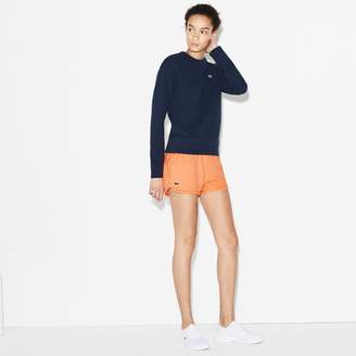Lacoste Women's SPORT Tennis Fleece Shorts