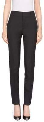 Saint Laurent Skinny Wool Ankle Pants