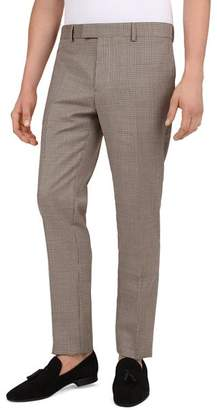The Kooples Houndstooth Slim Fit Trousers