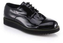 Public School Siggy Creeper Patent Leather Platform Derby Shoes