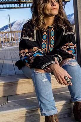 Femme Boutique Boston Embroidered Jacket