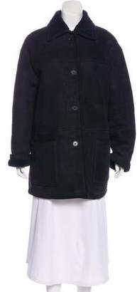 Lauren Ralph Lauren Suede Short Coat