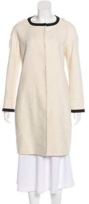 Max Mara 'S Long Button-Up Coat