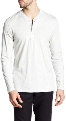 Slate & Stone Partial Button Up Long Sleeve Tee