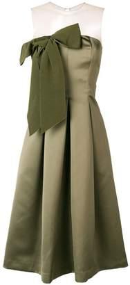 P.A.R.O.S.H. bow front midi dress