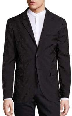 John Varvatos Wool-Blend Versatile Jacket
